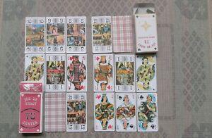 2 jeux de tarot, 78 cartes neuves, boites ouvertes, parfait