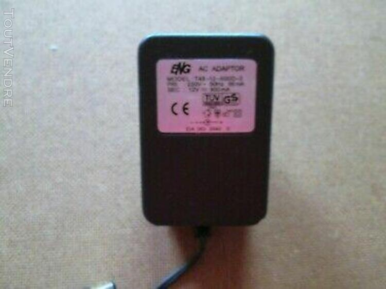 Adaptateur secteur chargeur eng 12v dc 900ma t48-12-900d-3