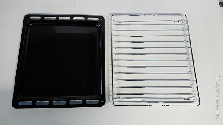 cuisiniere electrolux ekm61390ow grille + plateau leche