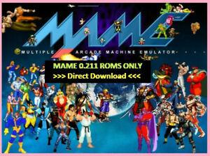 Direct download] arcade mame 0.211 roms only
