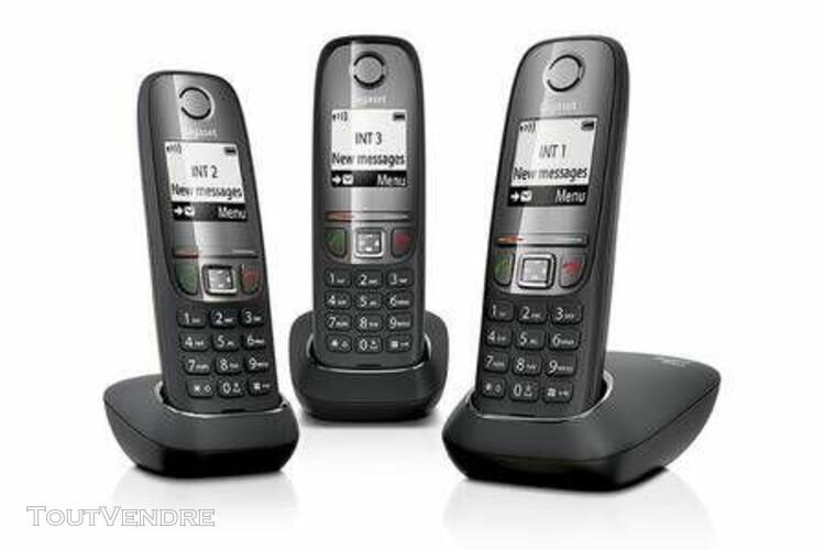 Gigaset téléphone fixe gigaset as415 trio