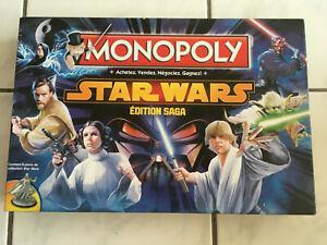 Jeu de société monopoly star wars edition saga complet