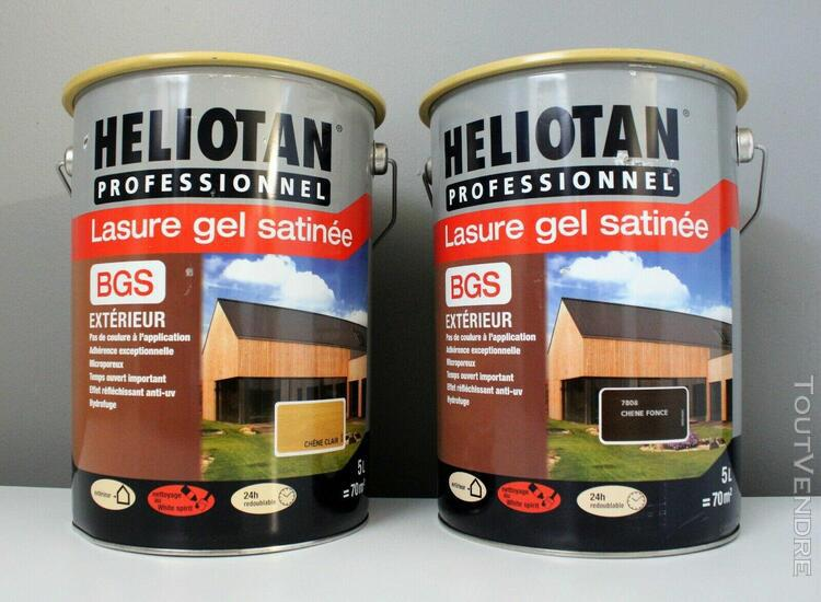 lasure gel satinée heliotan 5l