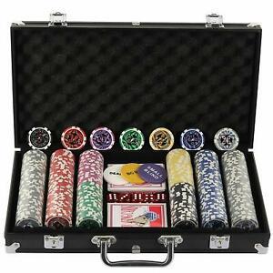 Malette de poker 300 jetons laser haute qualité 12 g