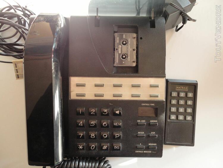 Matra téléphone matra rip30 avec répondeur