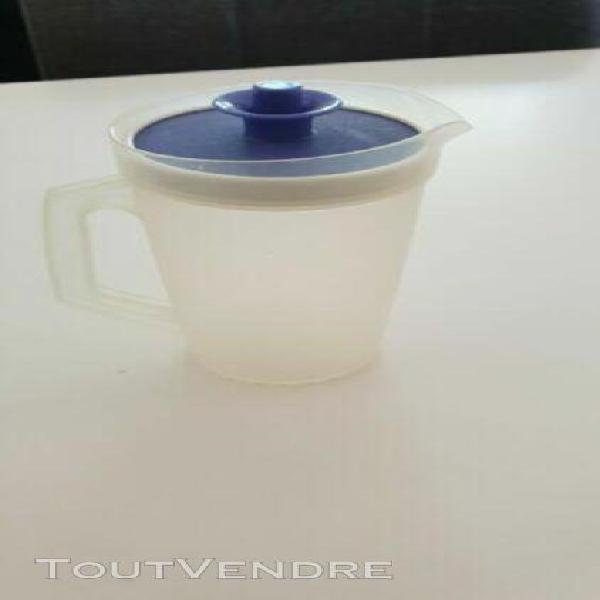 mini pichet vintage 25cl tupperware