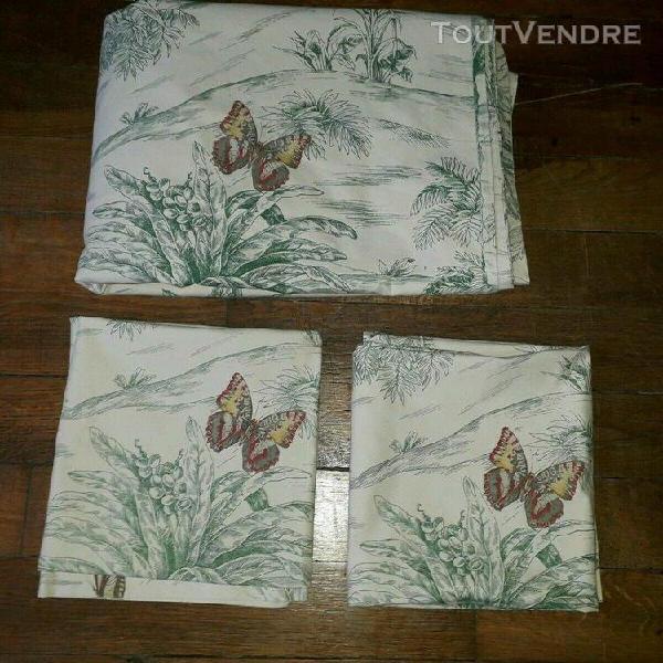 Pierre frey paris palm trees and butterflies duvet cover k