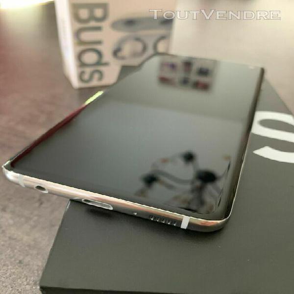 Samsung galaxy s10 128 go blanc prisme + galaxy buds garanti
