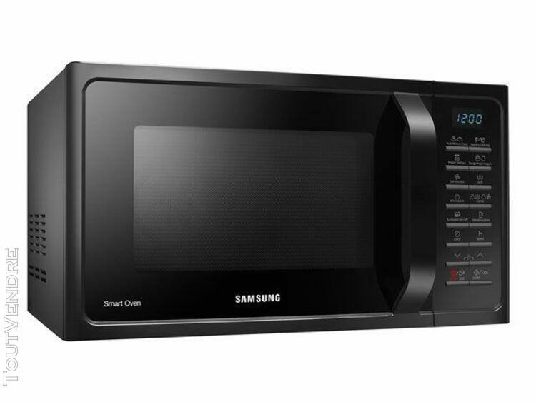 samsung mc28h5015ak smart oven - four micro-ondes combiné -