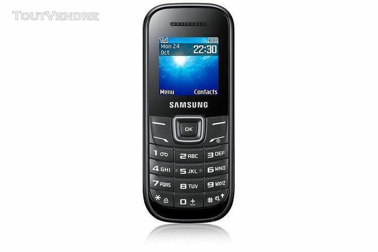 Samsung samsung gt-e1205y noir
