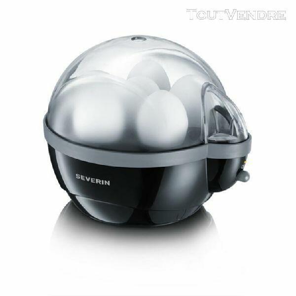 severin ek 3056 - cuiseur à ¿ufs - 400 watt - noir/gris