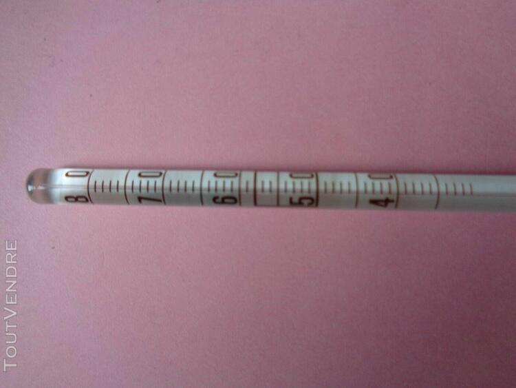 thermomètre à yaourt de 40° à 80°c