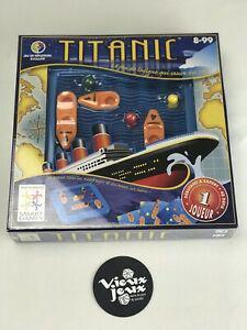 Titanic jeu de société neuf sous blister smart games