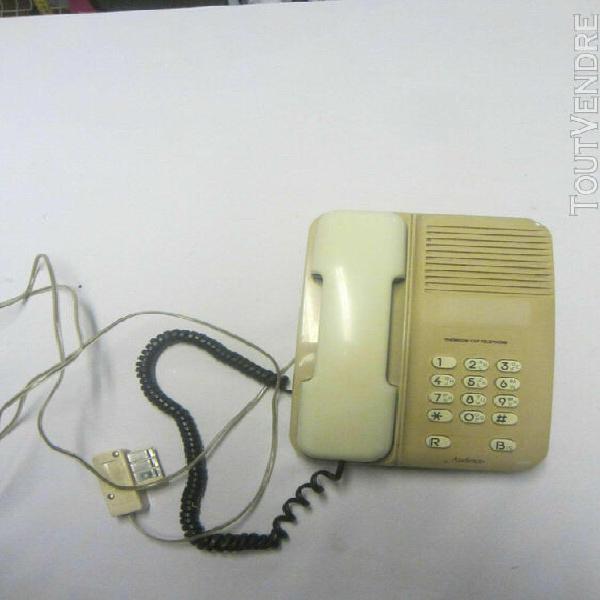 Téléphone fixe thomson audience fonctionne filaire senior