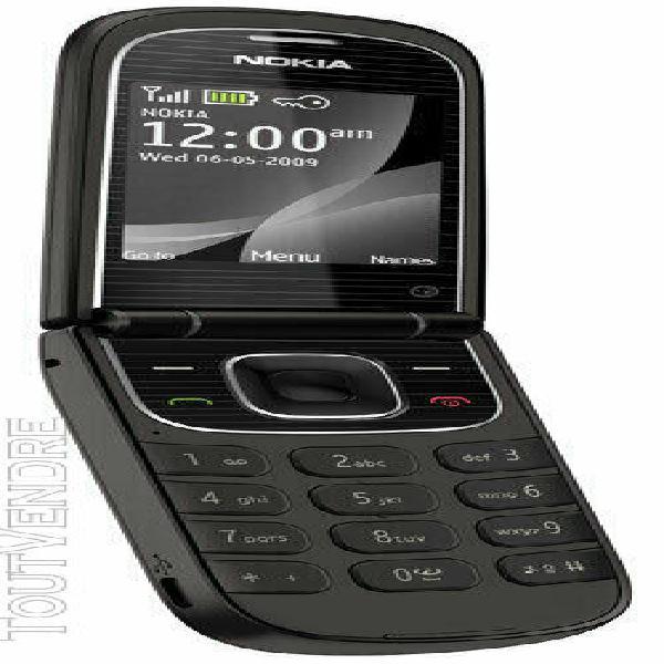 Téléphone portable nokia 3710 fold noir à clapet