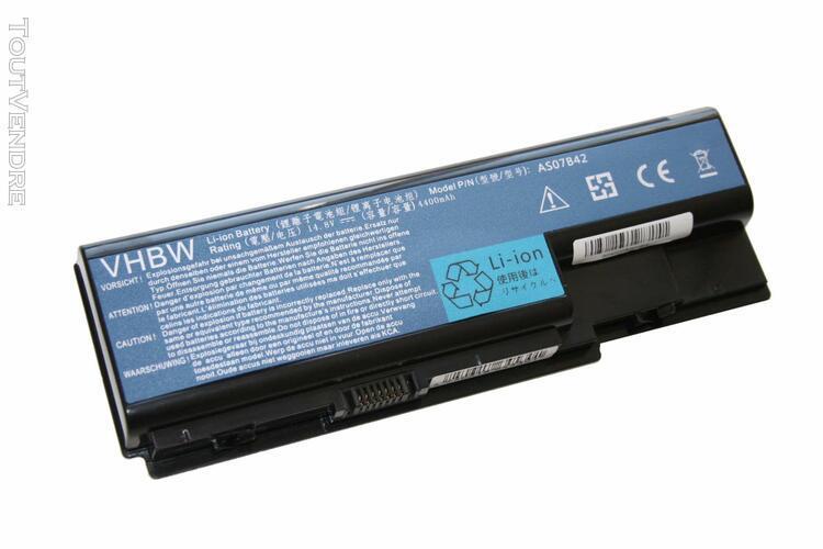 Vhbw li-ion batterie 4400mah (14.8v) pour ordinateur, pc ace