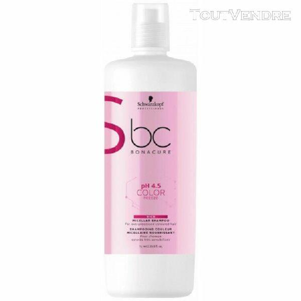Bc ph4.5 color freeze shampooing micellaire nourrissant 1l