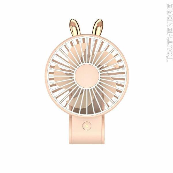 Monde @ mini ventilateur mini-usb rechargeable portatif vent