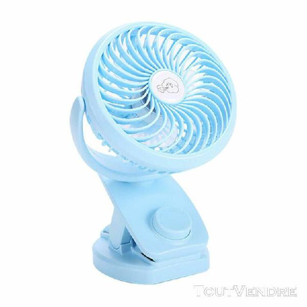 Monde @ remuer la tête mini ventilateur de bureau fan