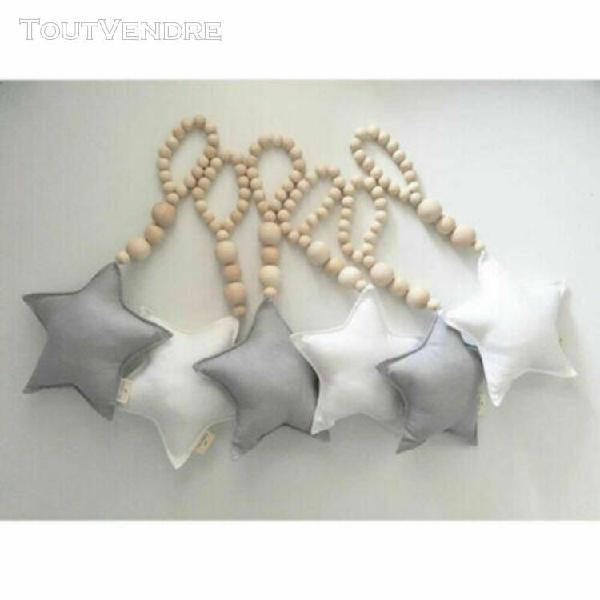 Nordique baby star coeur jouets tenture murale tentes decor