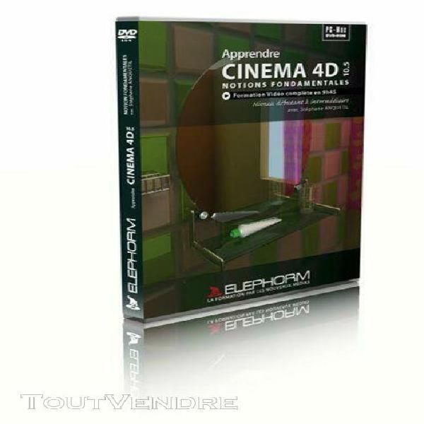 apprendre cinema 4d