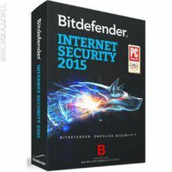 bitdefender internet security 2015 - licence d'abonnement (1