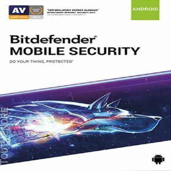 bitdefender mobile security - abonnement 2 ans - 2 postes -