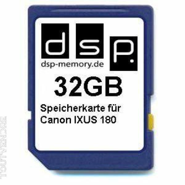 Carte mémoire 32 go pour canon powershot sx720