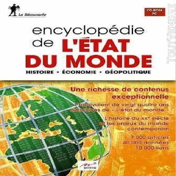 encyclopedie de l'etat du monde (histoire, Économie,