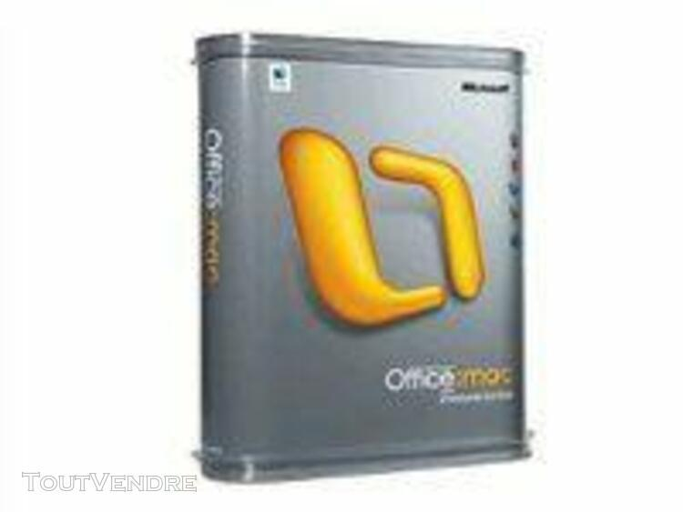 microsoft office 2004 for mac standard edition - support - a