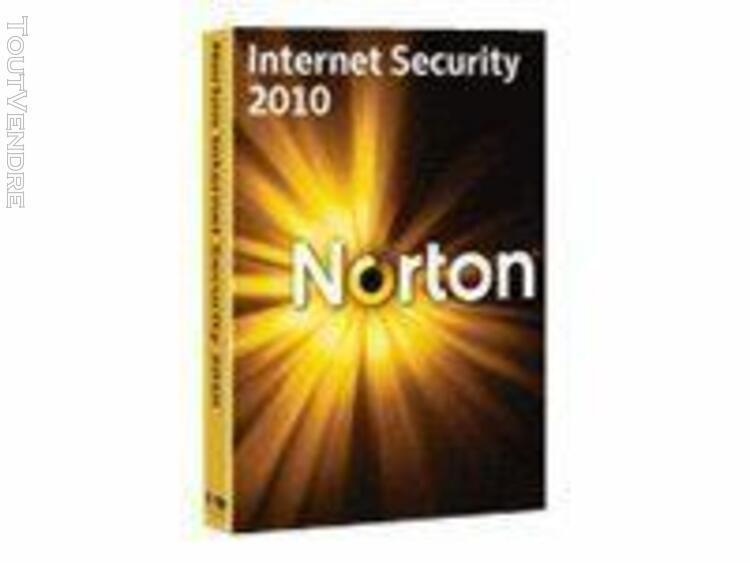 norton internet security 2010 - pack de boîtiers (mise À