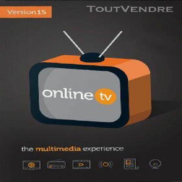 online tv 15 - logiciel en téléchargement