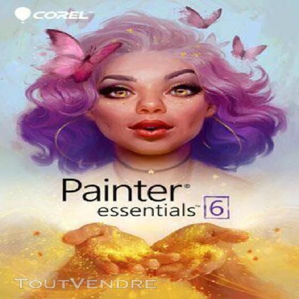 painter essentials 6 - logiciel en téléchargement