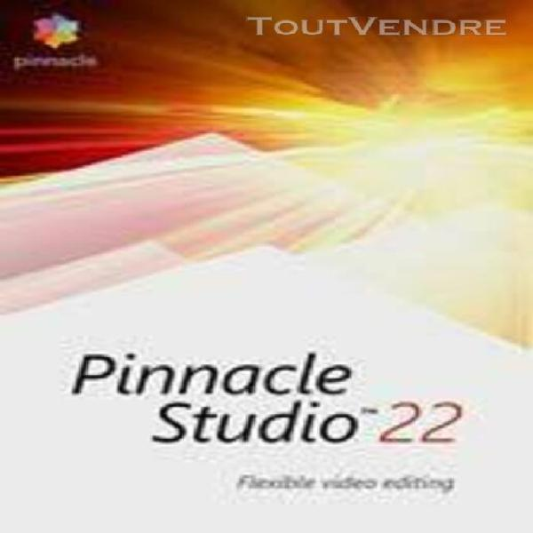 pinnacle studio 22 standard - logiciel en téléchargement