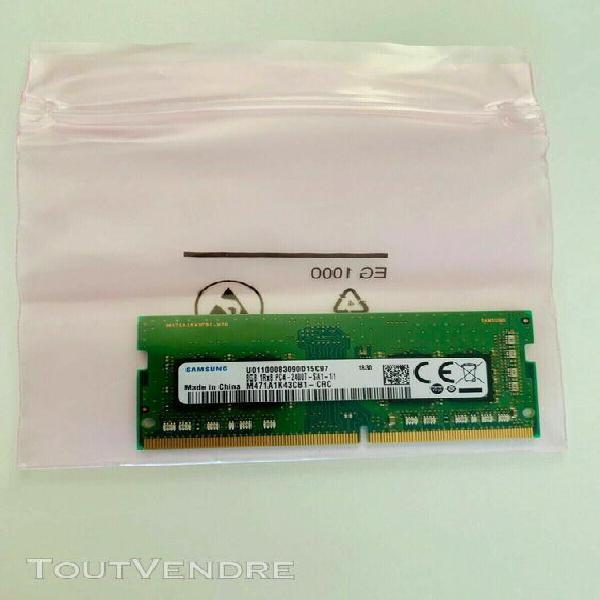 Samsung 8gb sodimm ddr4 pc4-2400t-sa1-11 2400 mhz m471a1k43c