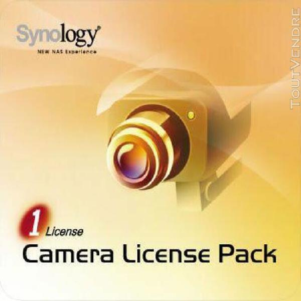 synology camera license pack - licence - 1 caméra