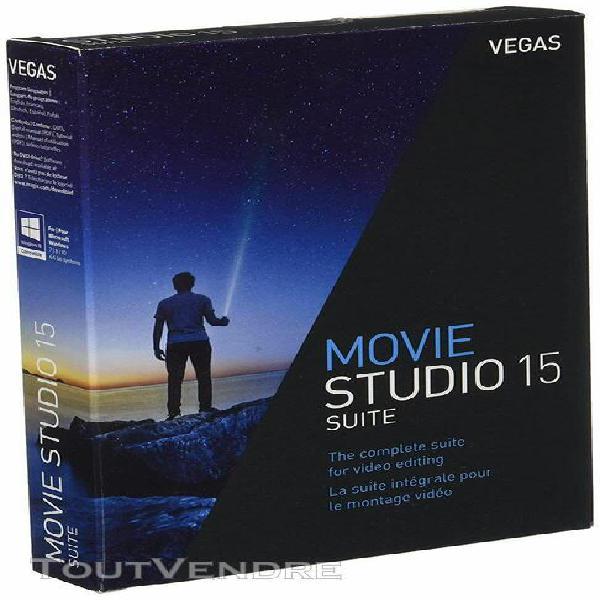 vegas movie studio 15 suite - multilangue (anglais,