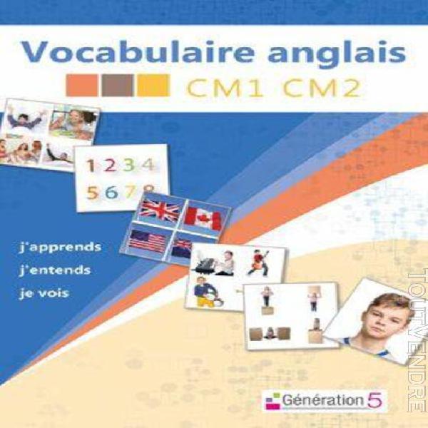 vocabulaire anglais cm1/cm2 - logiciel en téléchargement