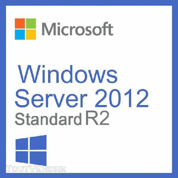 "windows server standard r2 2012 / ""version"