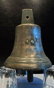 Ancienne grosse cloche bronze - nr 19 - xix / xxéme - ht