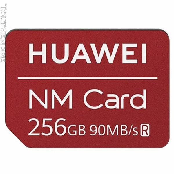 Huawei 90mb / s carte mémoire nm carte nano appliquer pour