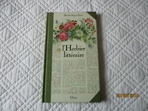 Livres l'herbier littéraire 1989, la vie secrète de