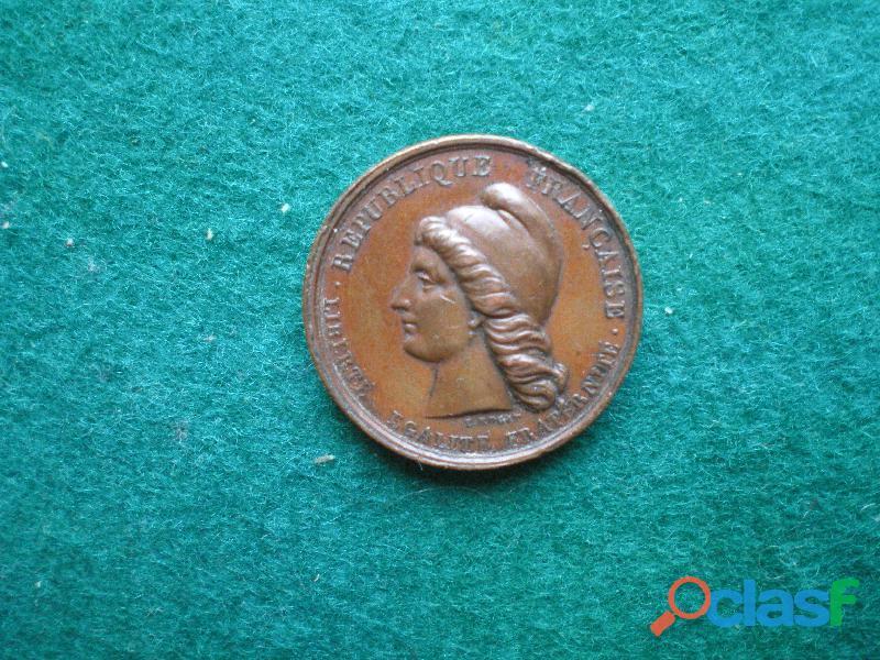Médaille   Révolution du 24 Février 1848.