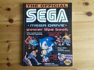Sega mega drive power tips book (guide, cheat code)
