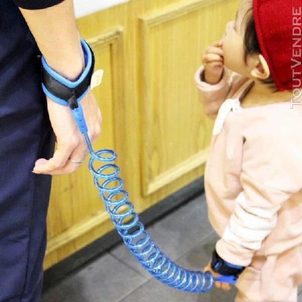 Bracelets de sport bleu enfants sécurité harnais laisse