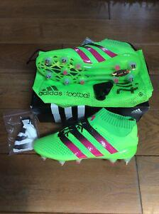 Chaussures football adidas ace 16.1 primeknit sg - t.42 2/3