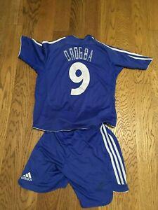 Chelsea drogba maillot home shirt 18/19 kids kit - shirt &