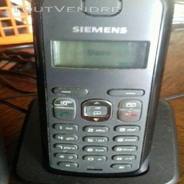 Duo téléphone fixe sans fils siemens gigaset as285