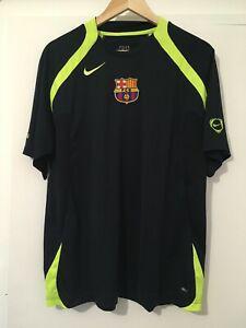 Fc barcelona messi nike football training shirt medium