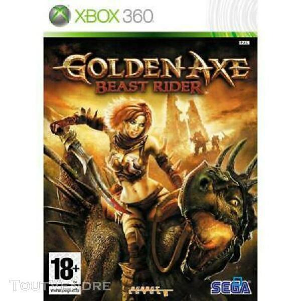 Golden axe - beast rider [complet] xbox 360